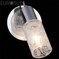 Настенный светильник 20101/1 хром/белый