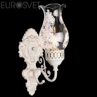 Настенный светильник 22804/1 белый с золотом
