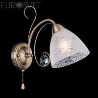 Настенный светильник 60011/1 античная бронза