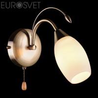 Настенный светильник 22080/1 античная бронза