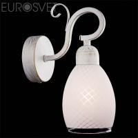 Настенный светильник 70006/1 белый с золотом