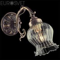 Настенный светильник 9550/1 античная бронза