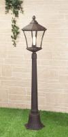 Уличный светильник Virgo F капучино (на столб) Е27 60W