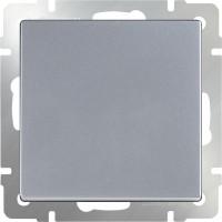 Перекрестный переключатель1клав (серебро) /WL06-SW-1G-C