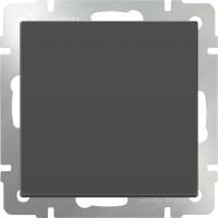 Перекрестный переключатель1клав (серо-коричневый) /WL07-SW-1G-C