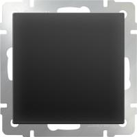 Перекрестный переключатель1клав (черный матовый) /WL08-SW-1G-C