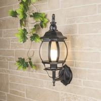 Уличный светильник GL 1001U (стена) черное золото