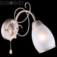 Настенный светильник 30016/1 белый с золотом