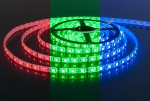 Лента светодиодиодная  60 Led 14,4 W IP65 мульти