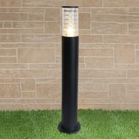 Уличный светильник - TECHNO 1507 черный Е27 1x20Вт