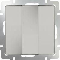 Выключатель 3клавишный (слоновая кость) /WL03-SW-3G
