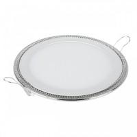Светильник Down Light-DLR006 12W 4200K PS/N перламутровый серебро/никель