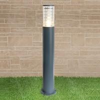 Уличный светильник Techno 1507 серый Е27 1x20Вт