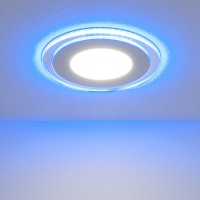 Светильник Down Light-DLKR160 12W 4200K Blue
