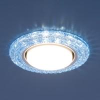 Светильник 3030 GX53 BL синий