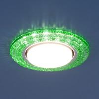 Светильник 3030 GX53 GR зеленый