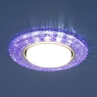 Светильник 3030 GX53 VL  фиолет