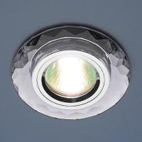 Светильник 8150 зеркальный серебро  SL