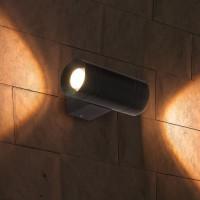 Уличный светильник - TECHNO 1605 LED графит