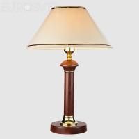Настольная лампа 60019/1 темное дерево
