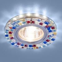 Светильник 2195 MR16 SL/MLT зеркальный/мульти