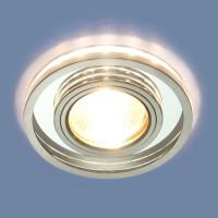 Светильник 7021 MR16 SL/CH зеркальный/хром
