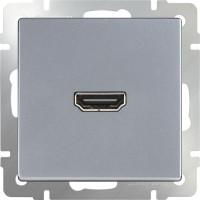 Розетка HDMI (серебряный) / WL06-60-11