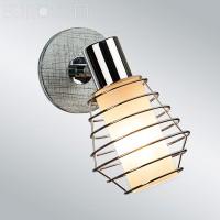Настенный светильник 20039/1 хром/серый