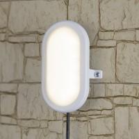Пылевлагозащищенные светильники - LED Светильник 17см 6W 4000К IP54