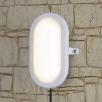Пылевлагозащищенные светильники - LED Светильник 22см 12W 4000К IP54