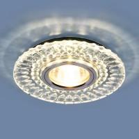 Светильник 2197 MR16 CL/SL прозрачный/серебро