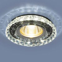 Светильник 8351 MR16 CL/BK прозрачный/черный