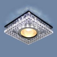 Светильник 8391 MR16 CL/SL прозрачный/серебро