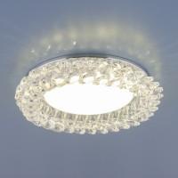 Светильник 1063 GX53 CH/CL  хром/прозрачный
