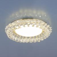 Светильник 1063 GX53 GD/CL золото/прозрачный