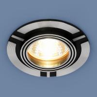 Светильник 5109 MR16 CH/BK хром/черный