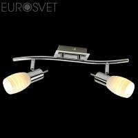 Настенный светильник 20046/2 хром/белый