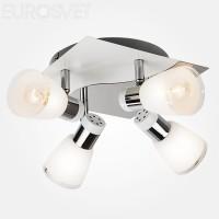Потолочный светильник 20048/4 белый/хром