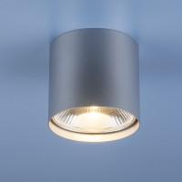 Накладной точечный светильник 6876 серебро