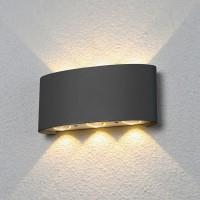 Уличный свет - 1551 TECHNO LED TWINKY TRIO серый
