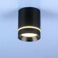 Светильник DLR021 9W 4200K черн.матовый
