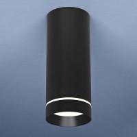 Светильник DLR022 12W 4200K черн.маровый