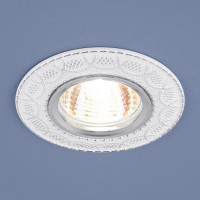 Светильник 7010 MR16 WH/SL белый/серебро