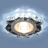 Точечный свет - 8356 MR16 CL/BK прозрачный/черный