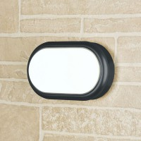 Пылевлагозащищенный Светильник LED Forssa черный