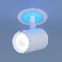 Светильник DSR002 9W 6500K белый матовый подсветка Blue