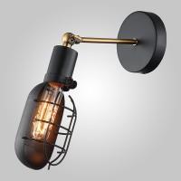 Настенный светильник в стиле лофт 50057/1 черный