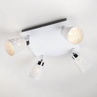 Потолочный светильник с поворотными плафонами 20060/4 белый
