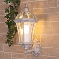 Уличный свет - Capella белое золото (стена) Е27 1х60W