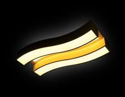 Светильник светодиодный FP2422 WH 60W+24W D690*300